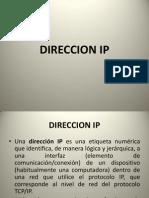 Direccion Ip