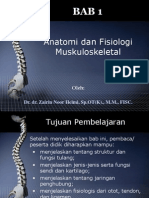 BAB 1 Anatomi Dan Fisiologi Sistem Muskuloskeletal