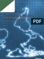 Boletim de Economia e Política Internacional