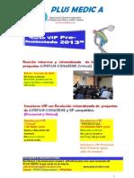 SIMULACROS-CURSO PRESENCIAL y VIRTUAL Pre Residentado Medico 2013 PLUS MEDIC A