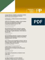 revista Planejamento e Políticas Públicas