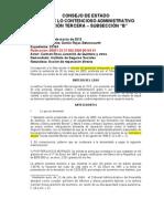 CE 3 B, 29 de Marzo de 2012, Danilo Rojas, Rad. 23163