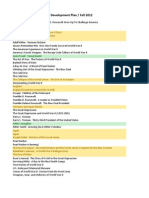 FRIT 7134 Collection Development Plan Order