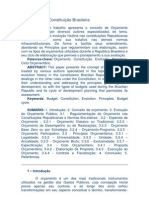Orçamento na Constituição Brasileira