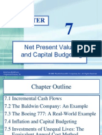 Ross7eCh07 NPV and Capital Budgeting