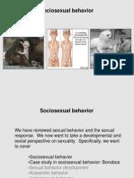 Primate Sexuality Sociosexual Behavior