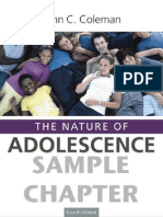 +the Nature of Adolescence.coleman