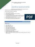 Bases de Datos - Normalizacion