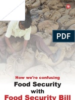 How We'Re Confusing Food Security With FSA