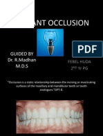 Implant Occlusion Final Ppt