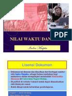 NILAI WAKTU DAN UANG by Indra Maipita