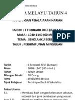 Rph Bahasa Melayu Tahun 4