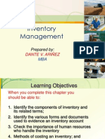 INVENTORY MANAGEMENT-DANTE V. ARIÑEZ