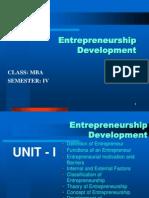 Entrpreneurship Development