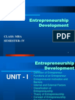 Entrpreneurship Development