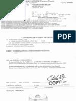 Facchini District Court Commitment Paper