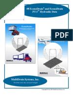 8 Econodrain Hydraulic Data Booklet