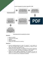 Determinación del contenido de arsénico según NTC 2188