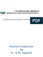 461_APH302 Non-Ruminant Production Lecture Note 1