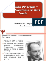 Aula+Principais+Teorias+ +Lewin