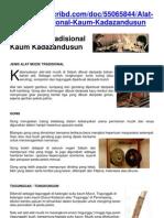 55065844 Alat Muzik Tradisional Kaum Kadazandusun