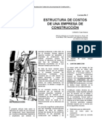 Estructura de Costos de Empresa Constructora (1)