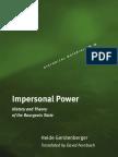 Gerstenberger, H., Fernbach, D. (Tr.)-Impersonal Power (Historical Materialism Book Series) (2007)