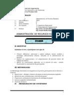 Syllabus Administracion de Recursos Humanos-2011-i