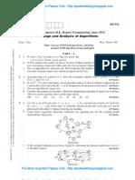 Design & Analysis of Algorithm June 2012 NEW