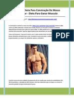 Dieta 2x1 para aumentar masa muscular