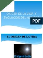 Origen y Evolucion Del Hombre Final