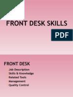 2 Front Desk Skills