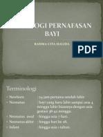 Case 6 Fisiologi Pernafasan Bayi