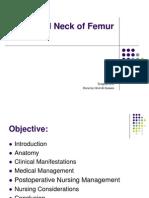Fractured Neck Femur