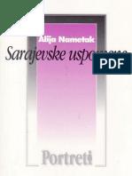 Sarajevske uspomene - Alija Nametak