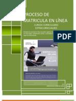 Manual de Matricula en Linea