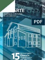 Agenda cultural de Conarte | abril 2013