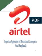 Airtel(Motivation)Trm Paper
