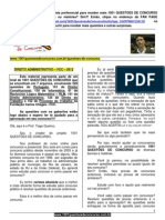 QUESTÕES DE CONCURSO - DIREITO ADMINISTRATIV O - FCC - 2012.pdf