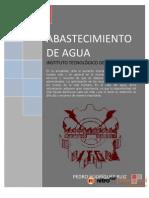 Libro de Abastecimiento de Aguas