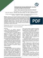 Expansão da exportação da cachaça brasileira
