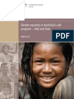 Gender Equality in Australian Aid Porgram