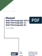 WuT W&T Wiesemann und Theis WEB-IO Climate 57610 57612 57608