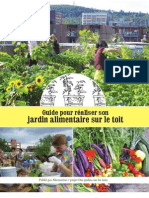 Alternatives and the Rooftop Garden Project - Guide pour réaliser son jardin alimentaire sur le toit