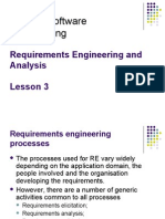 Lesson 3 Requirements Engineering and Analysis