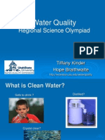 Science Olympiad Water Quality Presentation
