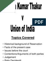 Ashok Kumar Thankur Case