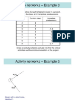 Activity Networks Example 3matematik