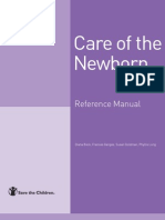 Care of the Newborn, Reference Manual