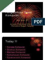 II. Pengetahuan Dasar Komputer